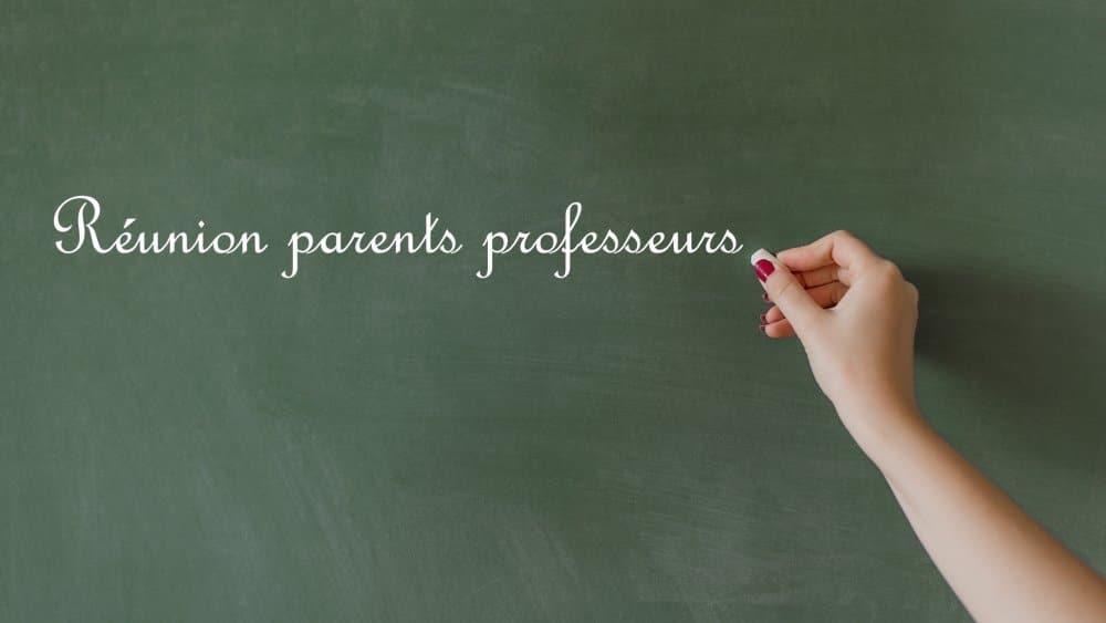 réunion parents-profs